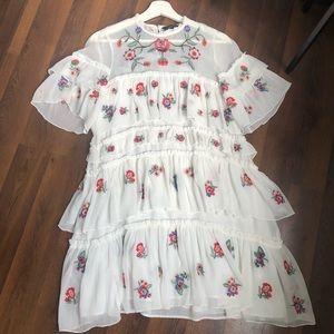 Zara Spanish Style Tier Dress